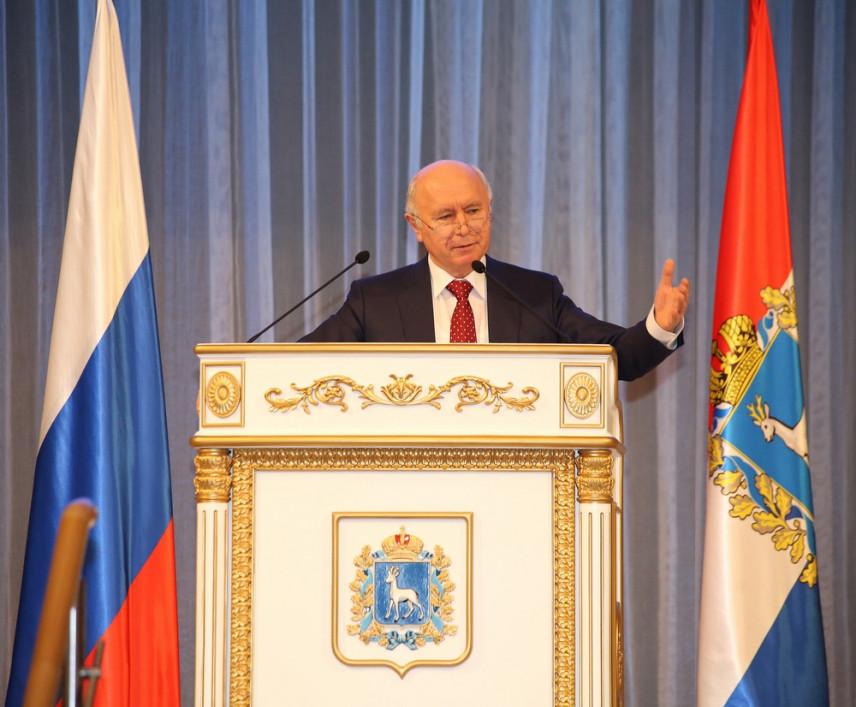 Губернатор Самарской области Николай Меркушкин ушел в отставку