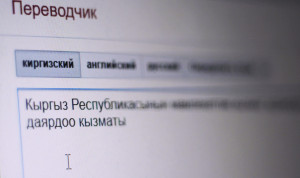 Министру экономики Киргизии наймут репетитора по киргизскому языку