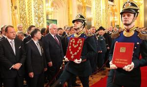 В Петербурге открыли выставку, посвященную институту президентства в России