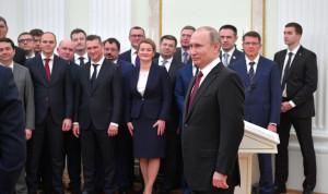 Путин анонсировал новый набор на программу кадрового управленческого резерва