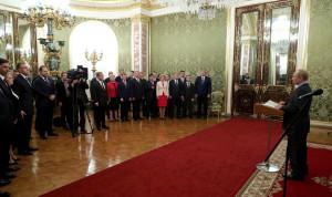 Владимир Путин поблагодарил правительство за работу