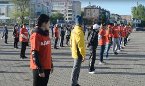 Казахские госслужащие запустили эстафету утренней зарядки