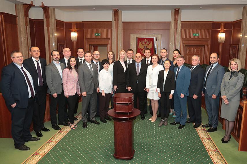 Глава ФНС России встретился с финалистами конкурса «Сделай карьеру сам!»
