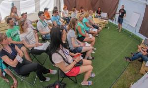 Участники конкурса «Молодые лидеры Поморья» решают кейсы на форуме «Команда 29»