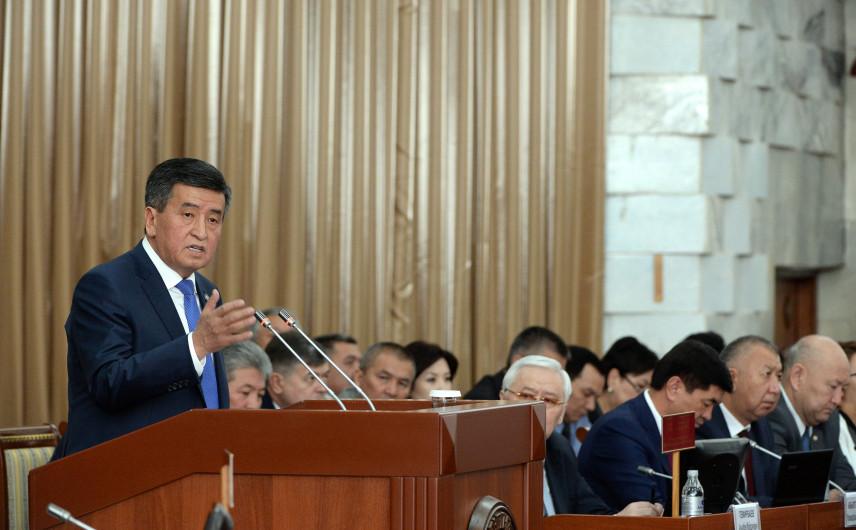 Президент Киргизии обозначил приоритеты кадровой политики в госуправлении