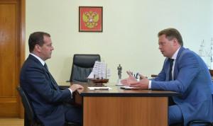 Глава Севастополя попросил Дмитрия Медведева посодействовать в привлечении кадров в госорганы