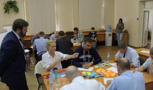 Нижегородская «Команда правительства» сыграла в деловую игру