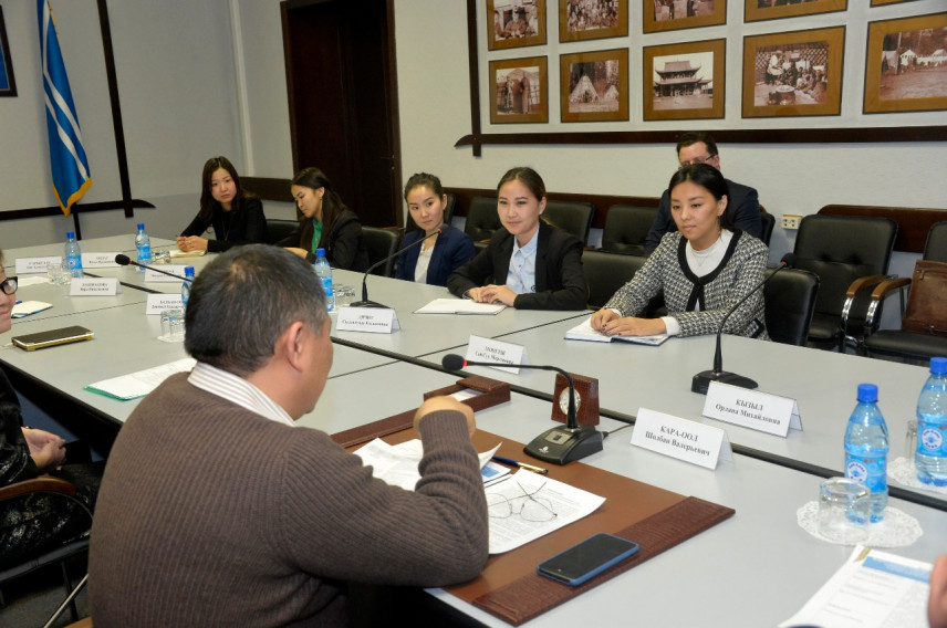 Молодежь Тувы пригласили на стажировку в органах власти