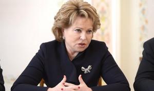 Валентина Матвиенко станет наставником «Лидеров России»