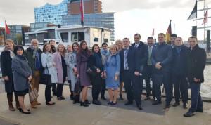 Госслужащие Санкт-Петербурга стажируются в Гамбурге