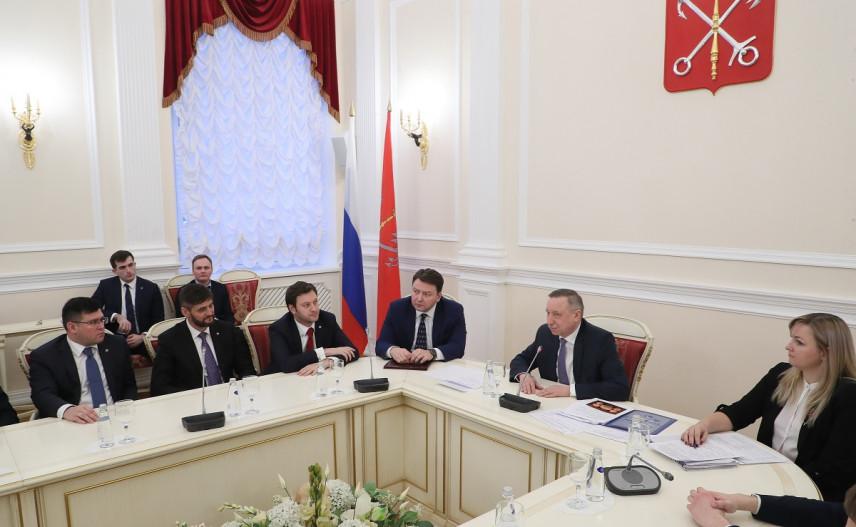 Врио губернатора Петербурга напутствовал финалистов «Лидеров России»