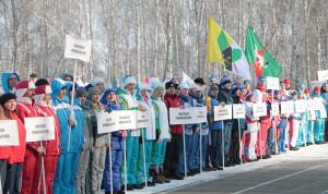 Омские госслужащие приняли участие в Зимней спартакиаде