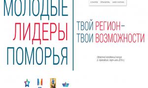 В Архангельске проходит заочный этап конкурса «Молодые лидеры Поморья»