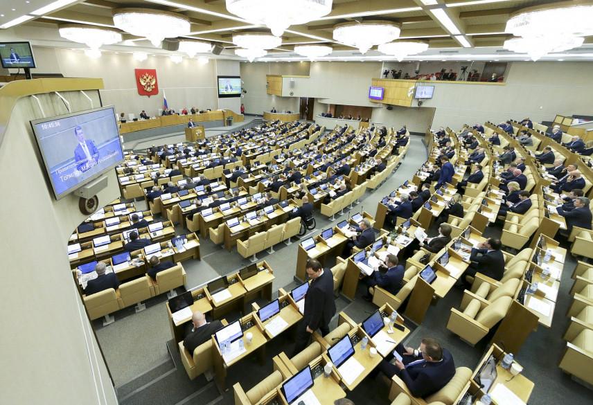 Госдума хотела бы участвовать в формировании правительства