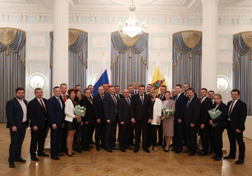 Победители конкурса «Управленческие кадры Рязанской области» получили статус амбассадоров