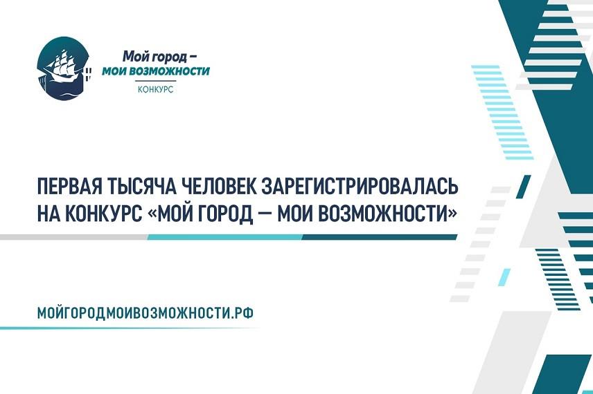 В петербургском конкурсе «Мой город – мои возможности» хотят участвовать жители 74 регионов