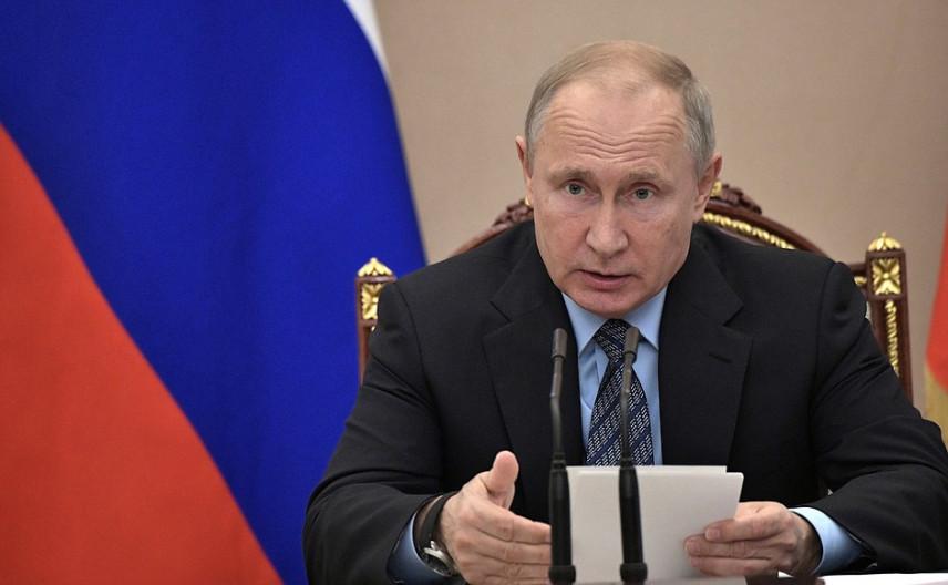 Владимир Путин подписал указ о развитии госслужбы до 2021 года