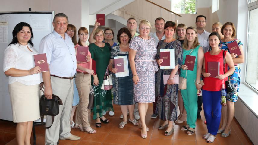 В Крыму чествовали выпускников программы переподготовки госслужащих