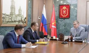 Губернатор Тульской области провел встречу с победителем «Лидеров России» в роли наставника