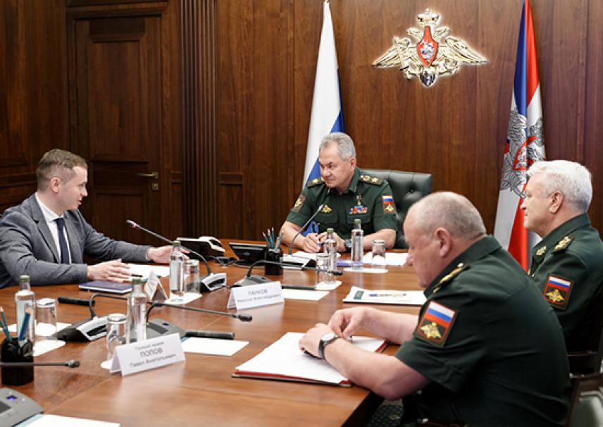 Наставником финалиста конкурса «Лидеры России» стал министр обороны РФ