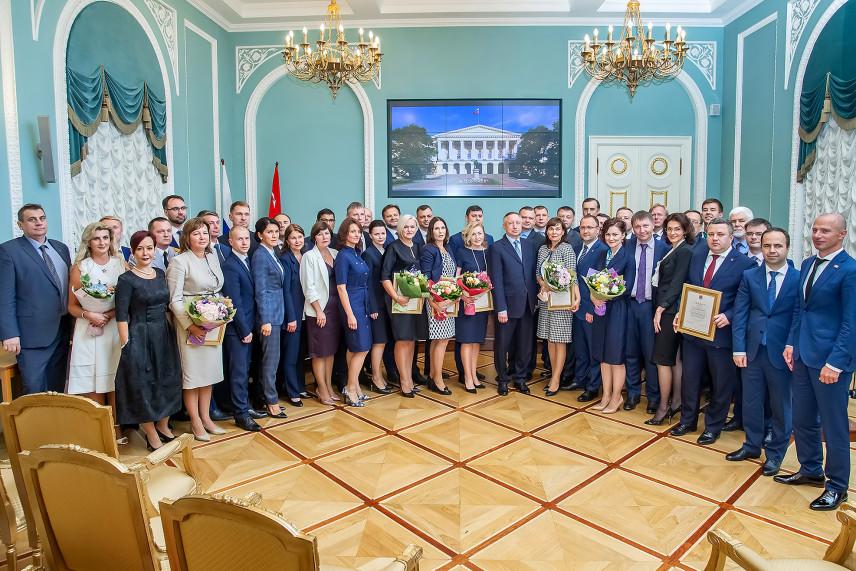 В Петербурге вручили дипломы выпускникам Губернаторской программы