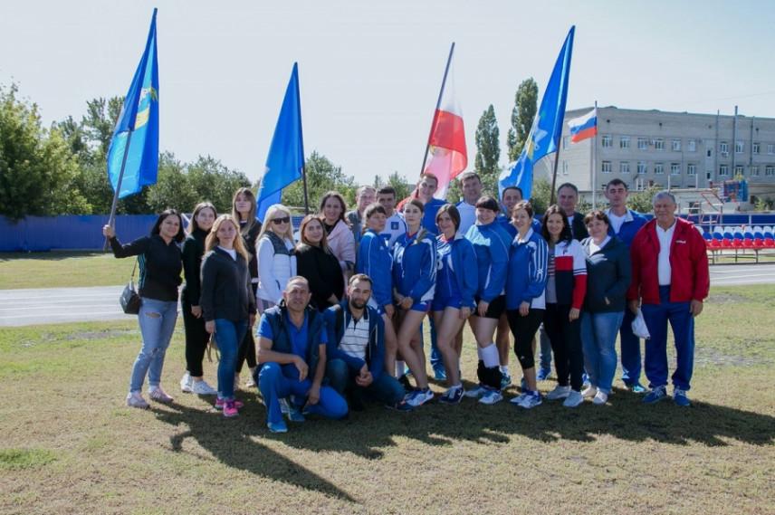 Муниципальные служащие Саратовской области приняли участие в ежегодной Спартакиаде