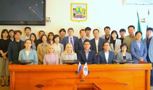 Делегация южнокорейских чиновников прибыла в Хабаровск
