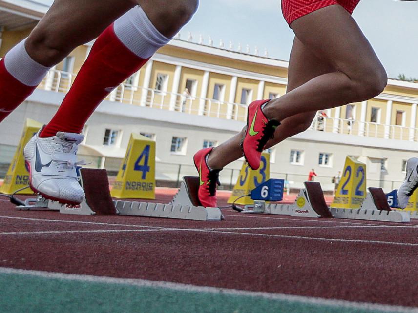 В Иркутске прошли соревнования по легкой атлетике среди госслужащих