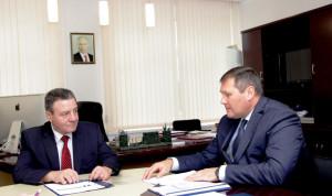 Глава комитета ГО и ЧС встретился с резервистом из «Команды Республики Коми»