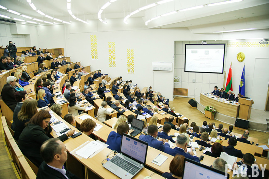 В Белоруссии проходит международная конференция по вопросам госслужбы