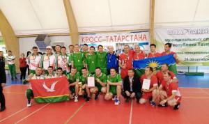 В Татарстане муниципальные служащие соревновались в волейболе
