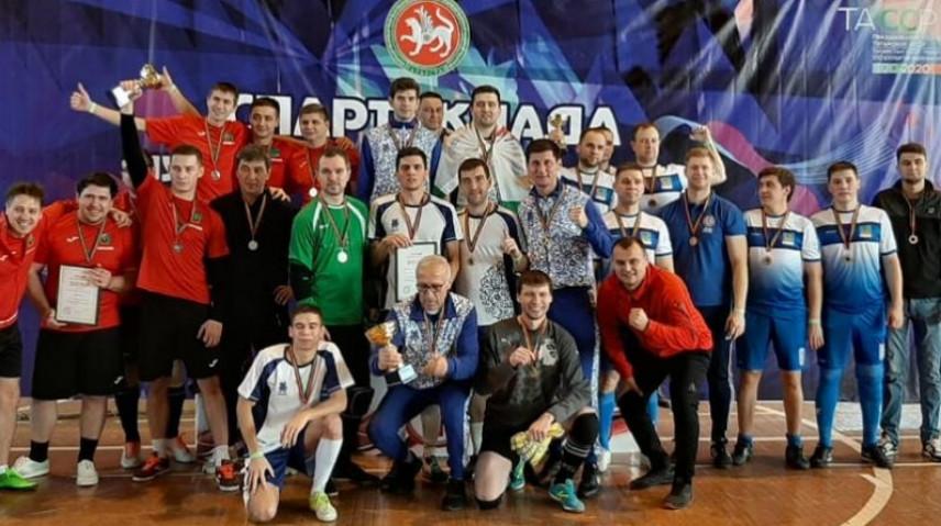 В Татарстане завершился турнир по мини-футболу среди муниципальных служащих