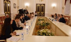 Десятую стажировку «Открытый Смольный» провели в комитете по молодежной политике