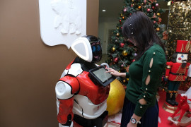 Первый вРоссии робот-чиновник начал прием граждан