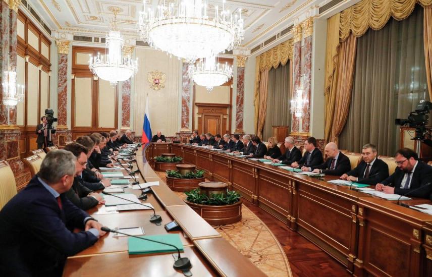 Премьер-министр провел первое заседание нового правительства