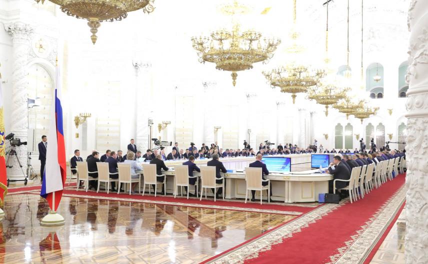 Владимир Путин утвердил новый состав президиума Госсовета