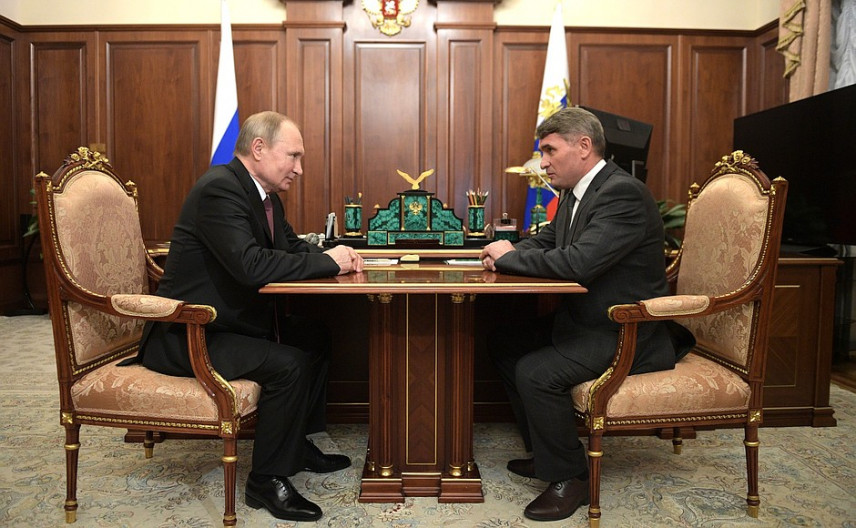 Президент назначил врио главы Чувашии Олега Николаева