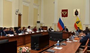 Глава Рязанской области встретился с полуфиналистами конкурса «Лидеры России-2020»