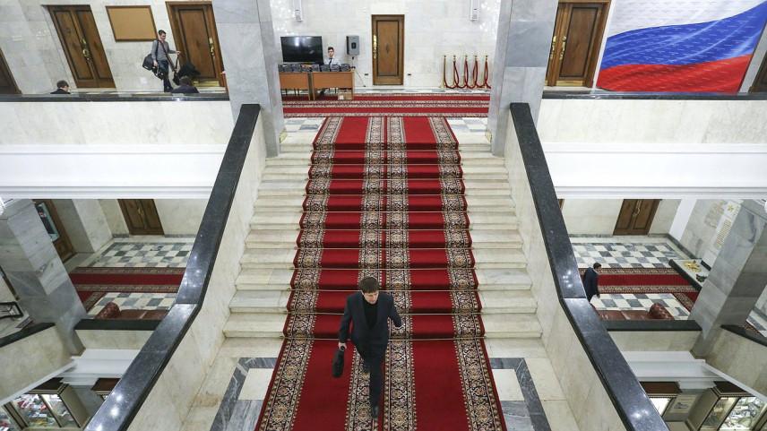 В Госдуму внесен законопроект об экспериментах в сфере госслужбы