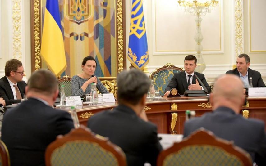 В офисе президента Украины анонсировали создание кандидатского резерва