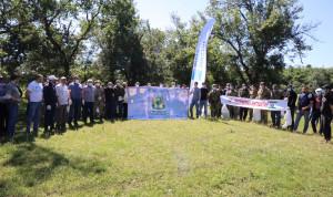 Госслужащие Ингушетии вместе с местными жителями собрали 250 мешков мусора на берегу реки Асса