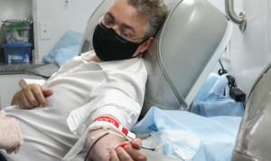 Глава Ставрополья сдал кровь во Всемирный день донора
