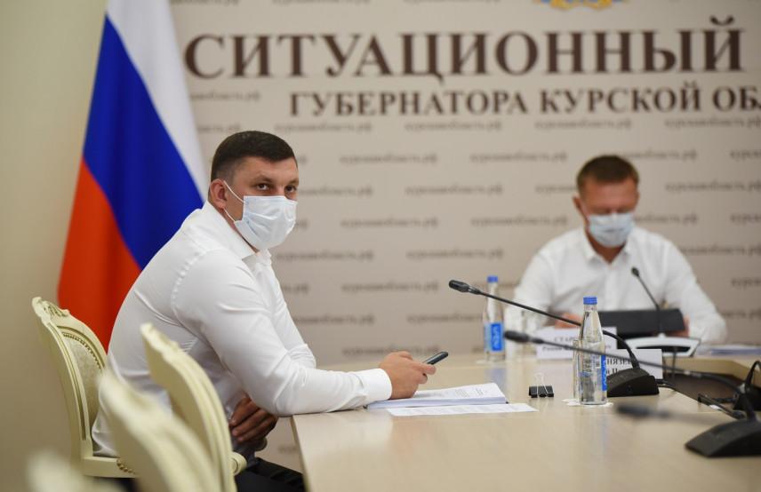 Глава Курской области провел заседание антикоррупционной комиссии