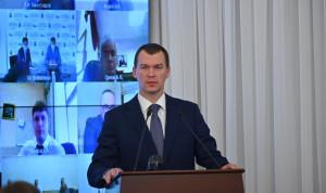 Врио губернатора Хабаровского края Михаил Дегтярев приступил к работе