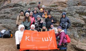 Губернаторский резерв Красноярского края развивает лидерские качества на скале Такмак