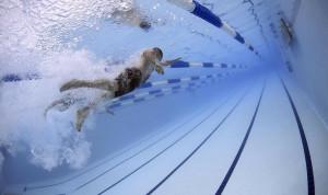 В заплыве на спартакиаде госслужащих Казахстана участвовали министры спорта и по делам молодежи