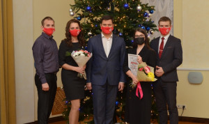 В Вологде чествовали участников проекта «Мы - вологжане. Команда мэра»