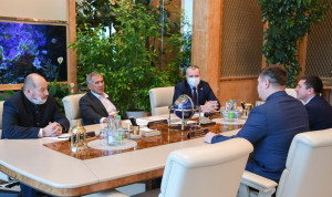 Победители «Лидеров России» презентовали проекты своему наставнику – президенту Татарстана