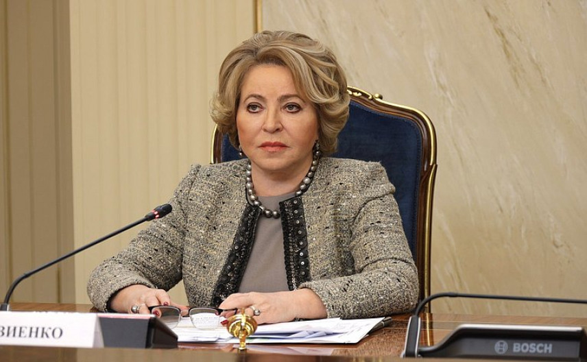 Валентина Матвиенко: Для успешного развития страны нужно больше женщин во власти