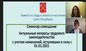Петербургские кадровики обсудили изменения в Трудовом законодательстве